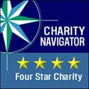 Legal Outreach rated four stars by Charity Navigator