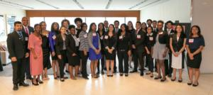 LO Executive Director James O'Neal and Co-Director Bethsheba Cooper with Students and Alumni in Attendance